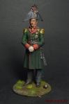 Русский генерал П.И.Багратион, 1812 - Оловянный солдатик коллекционная роспись 54 мм. Все оловянные солдатики расписываются художником вручную