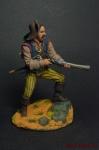 Пират с дробовиком, 18 век - Оловянный солдатик коллекционная роспись 54 мм. Все оловянные солдатики расписываются художником вручную