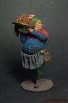 Средневековый повар - Оловянный солдатик коллекционная роспись 54 мм. Все оловянные солдатики расписываются художником вручную