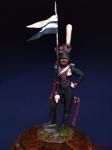 Рядовой армейских уланских полков, Россия 1812-14
