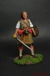 Шотландский воин - Оловянный солдатик коллекционная роспись 54 мм. Все оловянные солдатики расписываются художником вручную