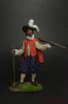 Английский мушкетёр-ветеран, 1588 год