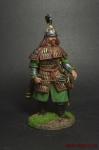 Монгольский воин - Оловянный солдатик коллекционная роспись 54 мм. Все оловянные солдатики расписываются художником вручную