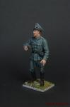 Немецкий офицер,2-ая мировая война. - Оловянный солдатик коллекционная роспись 54 мм. Все оловянные солдатики расписываются художником вручную