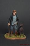 Манфред фон Рихтгофен (Красный барон) - Оловянный солдатик коллекционная роспись 54 мм. Все оловянные солдатики расписываются художником вручную