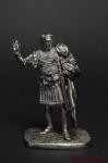 Флавий Велисарий, Византийский Полководец, 500-565 - Оловянный солдатик. Чернение. Высота солдатика 54 мм