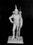 Фузилер итальянского легиона «Piemonte Du Midi», 1805-09 - Оловянный солдатик, белый металл (набор для сборки). Размер 54 мм (1:30)