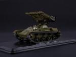 Масштабная модель Наши Танки №43, БМ-8-24 (Т-60) - Масштабная коллекционная модель масштаб 1:43