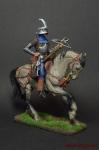Европейский конный арбалетчик 15 в. - Оловянный солдатик коллекционная роспись 54 мм. Все оловянные солдатики расписываются художником вручную