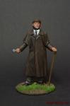 Шерлок Холмс - Оловянный солдатик коллекционная роспись 54 мм. Все оловянные солдатики расписываются художником вручную