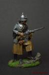 Панцирный казак польских гусар 1610 год, поход на Москву - Оловянный солдатик коллекционная роспись 54 мм. Все оловянные солдатики расписываются художником вручную