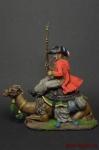 Рядовой полка дромадеров с верблюдом 1801 год
