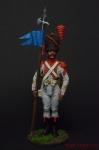 Старший сержант- 2-й орлоносец 7-го лёгкого полка. Франция 1809