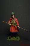 Артиллерист новоприборных полков 1700 год