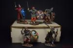 Набор оловянных солдатиков Викинги