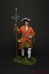 Канонир Артиллерийского полка с пальником, 1704-25 гг. Россия