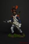Сапёр линейной пехоты. Франция, 1805-14
