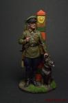 Младший сержант Пограничных войск НКВД, 1941 г. СССР - Оловянный солдатик коллекционная роспись 54 мм. Все оловянные солдатики расписываются художником вручную