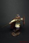 Знатный латгальский воин, 9 век - Оловянный солдатик коллекционная роспись 54 мм. Все оловянные солдатики расписываются художником вручную