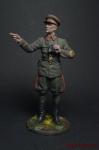 Генерал-полковник И.С.Конев, 1942 г. СССР - Оловянный солдатик коллекционная роспись 54 мм. Все оловянные солдатики расписываются художником вручную