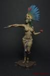 Миры Фэнтези: Жрица - Оловянный солдатик коллекционная роспись 54 мм. Все оловянные солдатики расписываются художником вручную