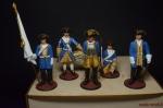 Набор оловянных солдатиков Шведы