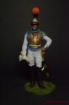 Офицер первого карабинерного полка, Франция, 1810-15