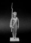 Унтер-офицер пехотных полков, Россия 1812-14