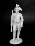 Унтер-офицер егерских полков, Россия 1799 г.