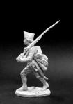 Рядовой мушкетерских рот мушкетерских полков, Россия 1799