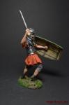 Римский Легионер с воздетым щитом, I в. н.э.