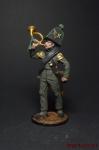 Горнист роты егерей Авангардного батальона. Брауншвейг, 1815 г.