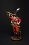 Трубач полка дромадеров. Франция, 1801-02 гг.
