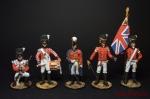 Набор оловянных солдатиков Анличане 1812