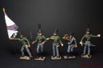 Набор оловянных солдатиков. Прусская армия 1805 год