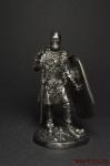 Кельтский воин, III век до н.э. - Оловянный солдатик. Чернение. Высота солдатика 54 мм
