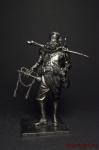 Первая мировая Сенегальски трубач - Оловянный солдатик. Чернение. Высота солдатика 54 мм