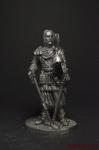 Князь Святослав. 10 век - Оловянный солдатик. Чернение. Высота солдатика 54 мм