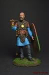 Кельтский воин, III век до н.э. - Оловянный солдатик коллекционная роспись 54 мм. Все оловянные солдатики расписываются художником вручную