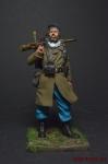 Первая мировая Французский пехотинец - Оловянный солдатик коллекционная роспись 54 мм. Все оловянные солдатики расписываются художником вручную