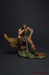 Конан из Киммерии - Оловянный солдатик коллекционная роспись 54 мм. Все оловянные солдатики расписываются художником вручную