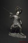 Тевтонский рыцарь 15 в. 90 мм. - Оловянная миниатюра 90 мм