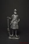 Стрелец бутырского полка вторая половина 17 века - Не крашенный оловянный солдатик. Высота 54 мм