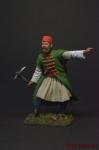 Албанский офицер, XVIII век