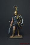 Феспийский гоплит, 5 век до н.э. - Оловянный солдатик, роспись 54 мм. Все оловянные солдатики расписываются художником вручную