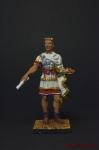 Юлий Цезарь - Оловянный солдатик, роспись 54 мм. Все оловянные солдатики расписываются художником вручную