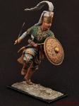 Турецкий янычар - Оловянный солдатик коллекционная роспись 54 мм. Все оловянные солдатики расписываются художником вручную