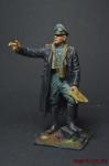 Германия. Генерал-фельдмаршал Эрвин Роммель - Оловянный солдатик коллекционная роспись 54 мм. Все оловянные солдатики расписываются художником вручную