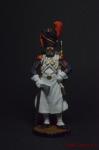 Сапёр пеших гренадер Имп. Гвардии. Франция, 1808-12