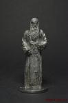 Православный монах 13-14 век. - Не крашенный оловянный солдатик. Высота 54 мм